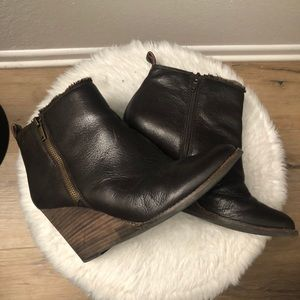 🌙Lucky Brand Leather Boots💫